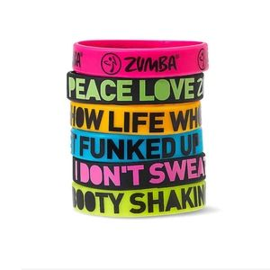 Zumba Express Yourself Bracelets (Set of 6)